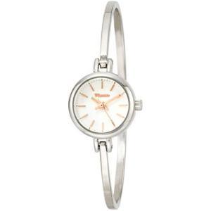 [フィールドワーク] 腕時計 アナログ フィヌ バングル ニッケルフリー ASS136-1 レディース シルバー (文字盤色-ホワイト) bluebird-shoji