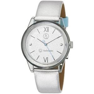 [シチズン Q&Q] 腕時計 アナログ スマイルソーラー 防水 革ベルト RP18-006 レディース シルバー (シルバー) bluebird-shoji