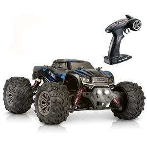 Hosim [1/20] ラジコンカー オフロード 高速 ラジコン 4wd 電動rcカー こども向け 人気 防水 ラジコン エンジン 子供(ブルー)|bluebird-shoji