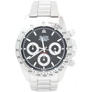 [エルジン] 腕時計 FK1059S-B メンズ シルバー (文字盤色-ブラック) bluebird-shoji