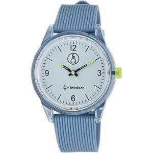 [シチズン Q&Q] 腕時計 アナログ スマイルソーラー 防水 ウレタンベルト RP10-005 メンズ ブルー (ダークブルー) bluebird-shoji