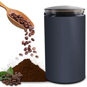 電動コーヒーミル コーヒーグラインダー ミルミキサー 粉末 コーヒー豆 ひき機 水洗い可能 豆挽き/緑茶/山椒/お米/調味料/穀物を挽く 一台多役 bluebird-shoji