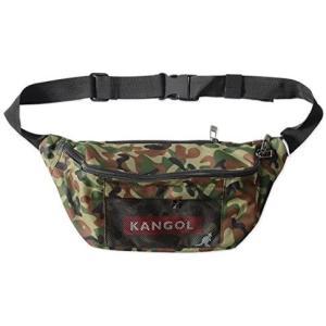 [カンゴール] KANGOL ウエストバッグ メッシュ メッシュバッグ ウエストポーチ メンズ レディース KGSA-BG00038 (カモ)|bluebird-shoji