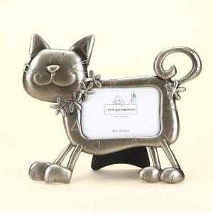 品番:EK915-166  ねこフレーム / メタルキャットフレーム 猫の写真立て bluebonnet-aoyama