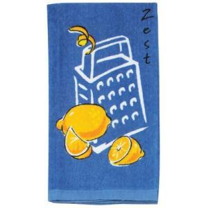 Kay-R0798 ケイディーデザイン Kay Dee Design キッチンタオル  コットン100%  Zest/レモン柄|bluebonnet-aoyama