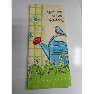 Kay-R6508 ケイディーデザイン Kay Dee Design キッチンタオル Tea Towe) コットン100%  In The Garden  柄|bluebonnet-aoyama