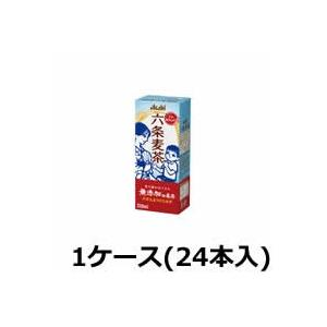 アサヒ六条麦茶 250ml×24本 (1ケース)( ウーロン茶 パック ) ※キャンセル不可商品|bluechips