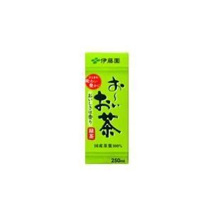 伊藤園(いとうえん) お〜いお茶 紙パック250ml×24本( 1ケース )|bluechips