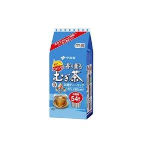 伊藤園 香り薫るむぎ茶 ティーバッグ 54袋入 ( 日本茶 / 麦茶 ) ※キャンセル不可商品|bluechips