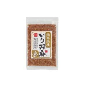 定形外は送料290円から 杉食 健康フーズ 熊本県産 いり胡麻 金 40g 取り寄せ商品 bluechips