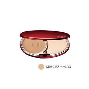 定形外は送料290円から SK-2 クリアビューティ パウダーファンデーション 420クリアベージュ レフィル マックスファクター(61826) SKII SK-II SK2|bluechips