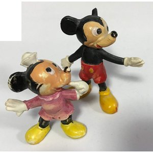 【DISNEY】ミッキーマウス&ミニーマウス Mickey Mouse minnie Mouse フ...
