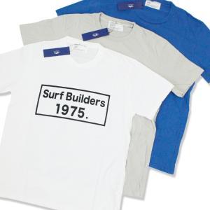Tシャツ メンズ 半袖 ブランド おしゃれ  1975 TOKYO 1975 SurfBuilders Tee 3カラー レディース セール|blueism-y