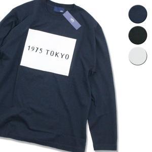 Tシャツ 長袖 メンズ レディース ブランド 1975 TOKYO BOX&LOGO L S Tee 3カラー セール|blueism-y