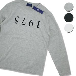 Tシャツ 長袖 メンズ レディース ブランド 1975 TOKYO UPSIDEDOWN L S Tee 3カラー セール|blueism-y