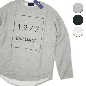 Tシャツ 長袖 メンズ レディース ブランド スウェット 1975 TOKYO BRILLIANT ROUND SWEAT 3カラー セール|blueism-y