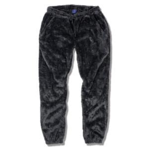 モコモコ ルームウェア メンズ ズボン ブランド レディース パンツ もこもこ 部屋着 黒 1975 TOKYO セール|blueism-y