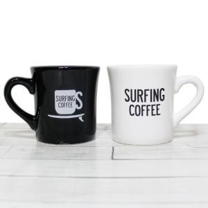 マグカップ おしゃれ ブランド 大きい コーヒーカップ 保温 かわいい Surfing Coffee Mag 2カラー セール|blueism-y