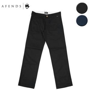 AFENDS アフェンズ チノパン パンツ SUPPLY CHINO PANT メンズ ブラック ネイビー OOO blueism-y