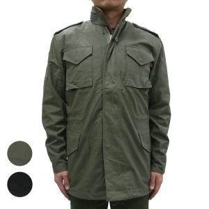 アルファインダストリーズ ジャケット メンズ 秋 冬 ALPHA INDUSTRIES M-65 アルファ  M-65 ミリタリー アウター SLIM FIT JACKET 2色 OOO|blueism-y