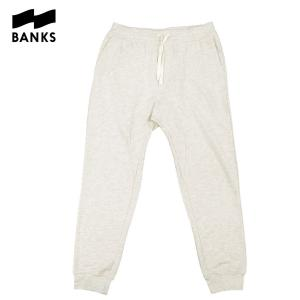 BANKS バンクス スウェットパンツ スウェット パンツ PARALLEL SWEAT PANT メンズ オフホワイト OOO blueism-y