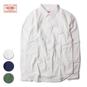 オックスフォードシャツ メンズ 長袖 ブランド オックスフォード ワークシャツ シャツ カジュアル フォーマル ビジネス アメカジ 白 紺 緑|blueism-y