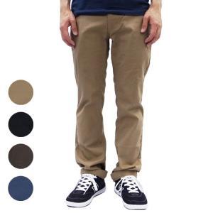 [SOLD OUT] チノパン メンズ ストレート ブランド ブリクストン パンツ BRIXTON スリムフィット ストレッチ スケート TOIL II PANT 4色 OOO blueism-y
