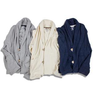 カーディガン メンズ 秋 厚手 リラックスパイルショール FEEL GOOD relaxing pile shawl 3カラー feel so easy LP-003|blueism-y