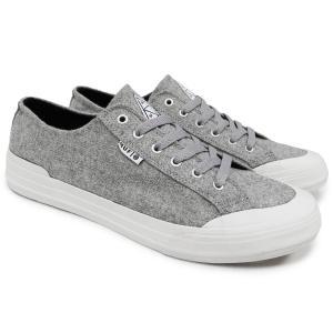 スケートシューズ メンズ ブランド HUF ハフ スニーカー シューズ スケシュー スエードレザー 靴 CLASSIC LO HEATHER GRAY OOO|blueism-y