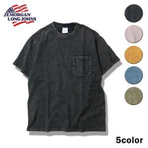 ジェーイーモーガン サーマル メンズ Tシャツ 半袖 ポケット ポケT 半袖Tシャツ スノーウォッシュ ウォッシュ ダメージ JEMORGAN ジェーモーガン|blueism-y