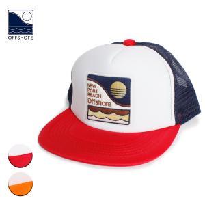 帽子 キャップ メンズ ブランド オフショア レディース おしゃれ メッシュ 海外 ロゴ サーフ サーフブランド サーフキャップ 紺 赤|blueism-y