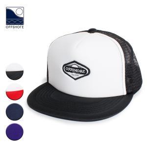 帽子 キャップ メンズ ブランド オフショア レディース おしゃれ メッシュ 海外 ロゴ サーフ サーフブランド サーフキャップ 黒 赤 紺 紫|blueism-y