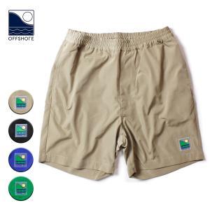 ナイロン ショートパンツ メンズ ブランド 短め 膝下 オフショア ナイロンパンツ ショーツ 短パン 半ズボン 無地 おしゃれ|blueism-y