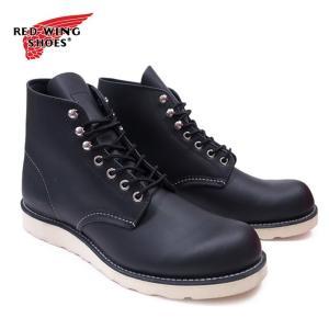 レッドウィング ブーツ メンズ 黒 REDWING ワークブーツ ブラック 8165 新品 OOO|blueism-y