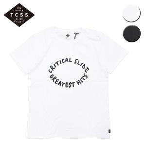 TCSS ティーシーエスエス Tシャツ 半袖 GREATEST HITS S/S TEE メンズ レディース ブラック ホワイト OOO|blueism-y