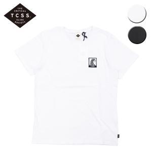 TCSS ティーシーエスエス Tシャツ 半袖 NEUE WAVE S/S TEE メンズ レディース ブラック ホワイト OOO|blueism-y