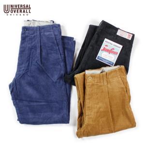 タックパンツ メンズ テーパード ブランド ユニバーサルオーバーオール コーデュロイパンツ パンツ トラウザーパンツ|blueism-y
