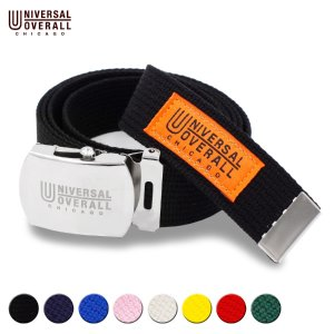 ベルト ガチャベルト ブランド メンズ レディース カラー ユニバーサルオーバーオール カジュアル 日本製 穴なしベルト UV0846I|blueism-y