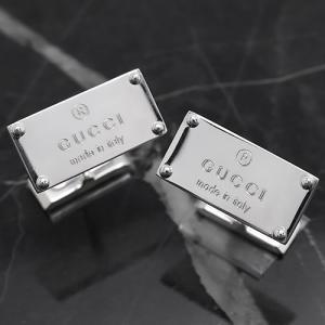 グッチ カフス トレードマーク シルバー 123590 J8400 8106 メンズ|bluek