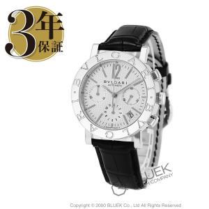 3d7698bb6b62 ブルガリ ブルガリブルガリ クロノグラフ アリゲーターレザー 腕時計 メンズ BVLGARI BB38WSLDCH_8