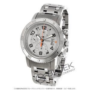 エルメス クリッパー クロノ メカニカル ダイバーズ クロノグラフ 腕時計 メンズ HERMES C...