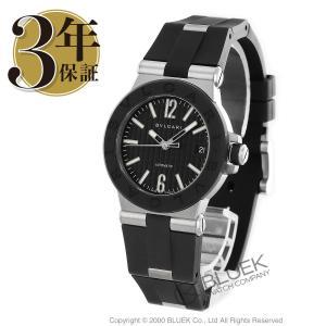 ブルガリ BVLGARI 腕時計 ディアゴノ ラバー メンズ...