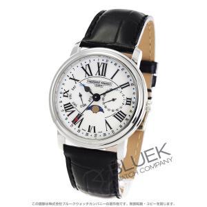 フレデリックコンスタント クラシック ビジネスタイマー ムーンフェイズ 腕時計 メンズ FREDER...