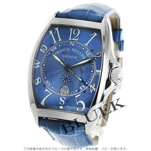 フランクミュラー FRANCK MULLER 腕時計 トノーカーベックス マリナー クロコレザー メンズ 8080 SC DT MAR