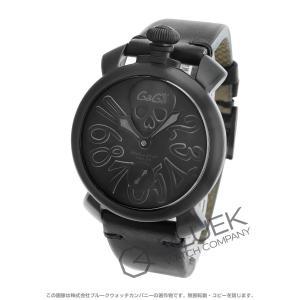 ガガミラノ GaGa MILANO 腕時計 マヌアーレ アートコレクション48MM メンズ 5012ART.01S bluek