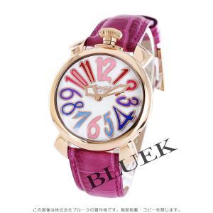 【数量限定特価】ガガミラノ GaGa MILANO 腕時計 マヌアーレ40MM ユニセックス 5021.1