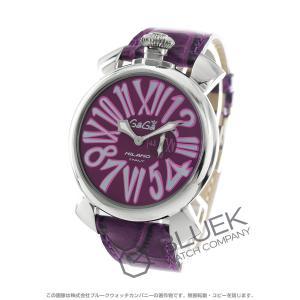 ガガミラノ GaGa MILANO 腕時計 スリム46MM メンズ 5084.5