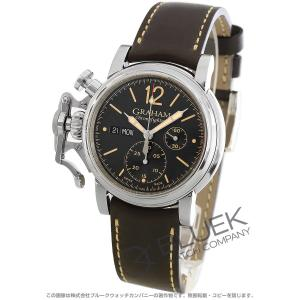 グラハム クロノファイター ヴィンテージ クロノグラフ 腕時計 メンズ Graham 2CVAS.B01A.L126S|bluek