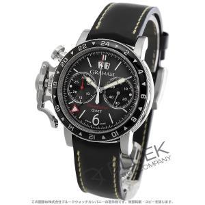 グラハム クロノファイター ヴィンテージ クロノグラフ GMT 腕時計 メンズ Graham 2CVBC.B15A.L127S|bluek