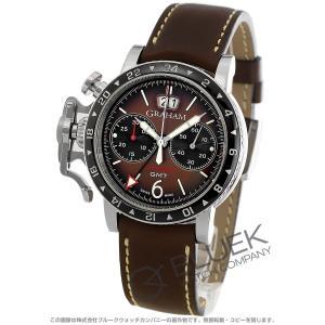 グラハム クロノファイター ヴィンテージ クロノグラフ GMT 腕時計 メンズ Graham 2CVBC.C01A.L126S|bluek